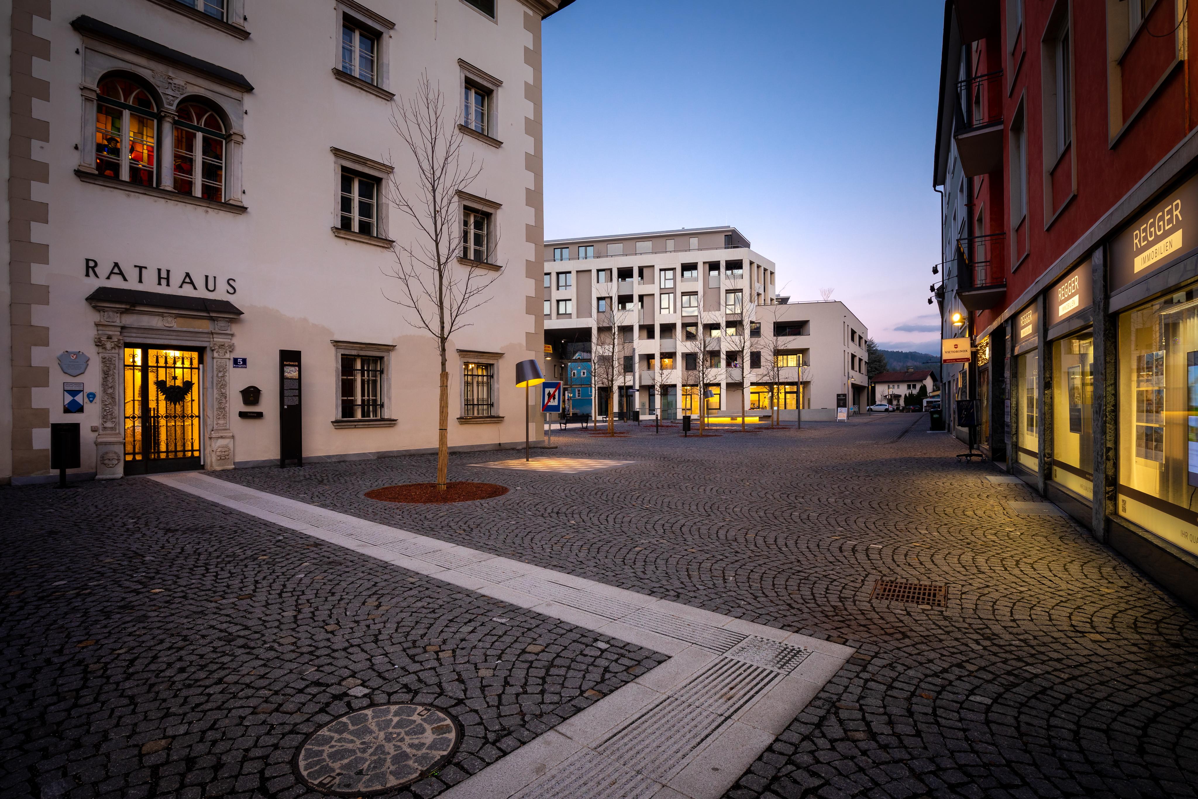 Projekt Neuer Rathausmarkt Spittal - Baustufe I